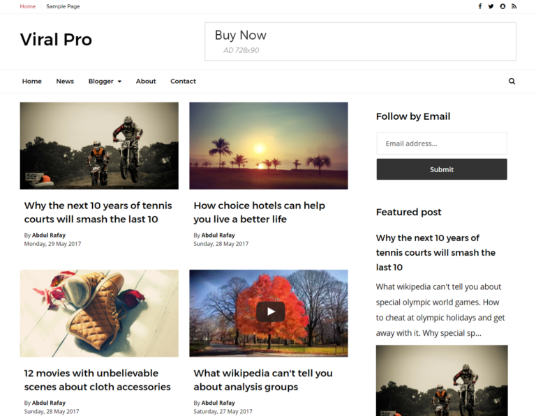 pro photo blog templates - templatebits premium blogger templates